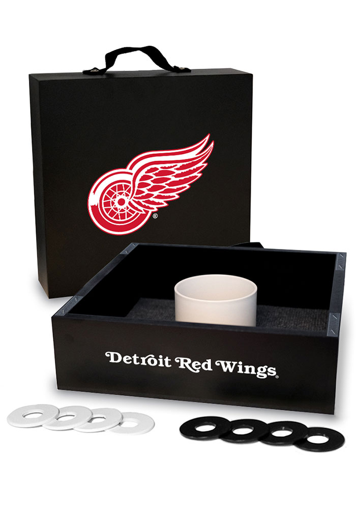 Detroit Red Wings Washer Toss Tailgate Game - Image 1