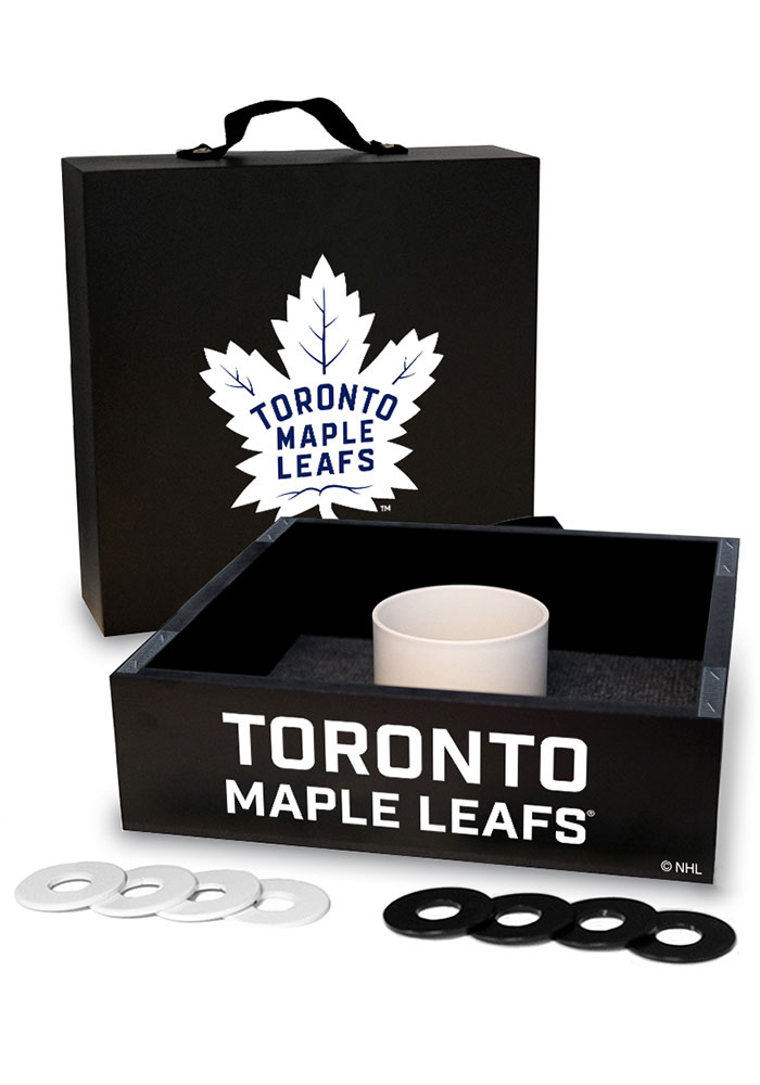 Toronto Maple Leafs Washer Toss Tailgate Game - Image 1