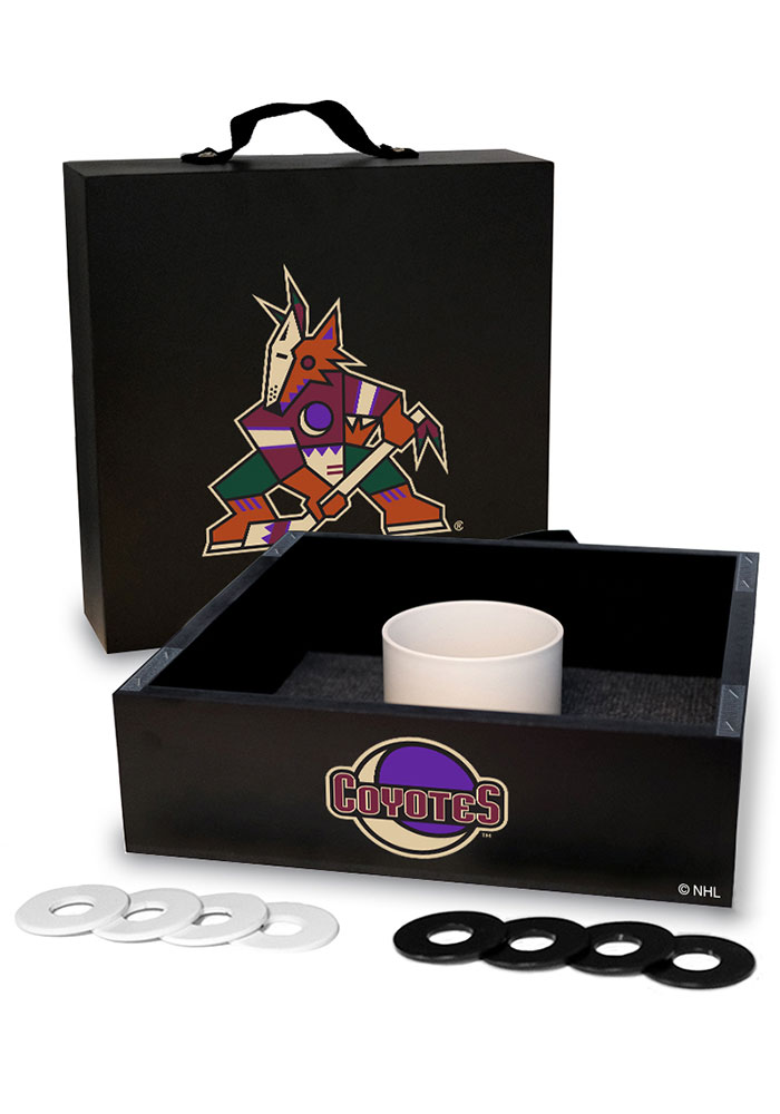 Arizona Coyotes Washer Toss Tailgate Game - Image 1