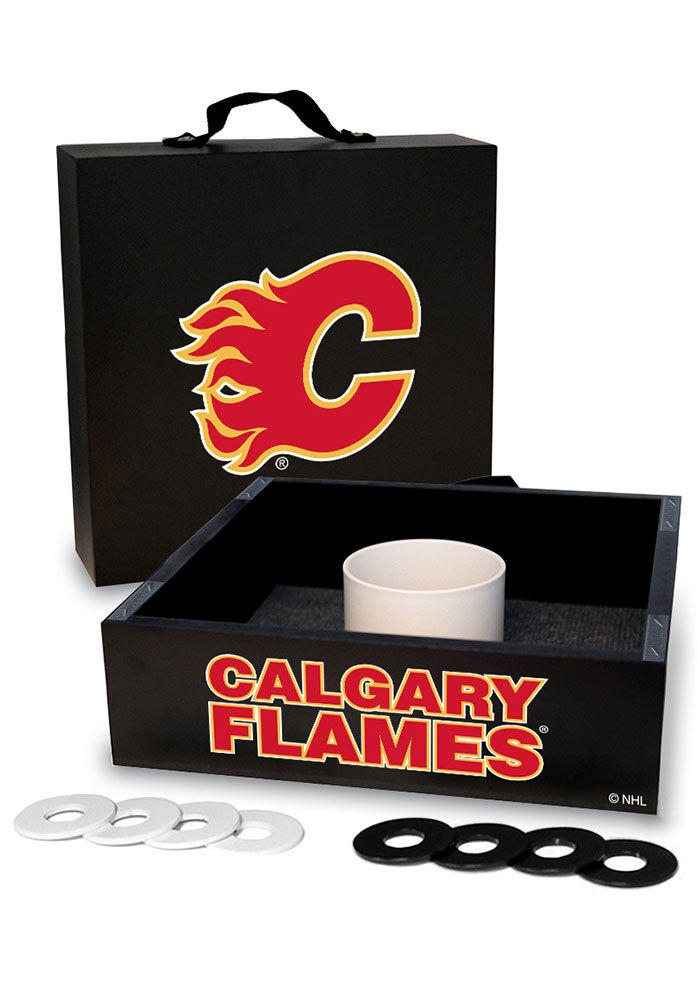 Calgary Flames Washer Toss Tailgate Game - Image 1