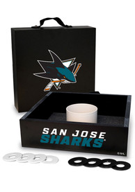 San Jose Sharks Washer Toss Tailgate Game