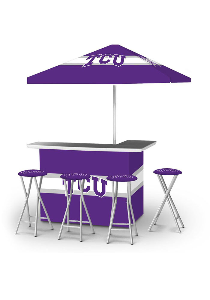 TCU Horned Frogs Pop Up Bar Table - Image 1