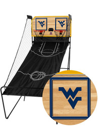 West Virginia Mountaineers Double Shootout Basketball Set