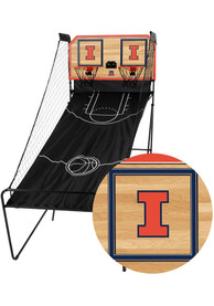 Illinois Fighting Illini Double Shootout Basketball Set
