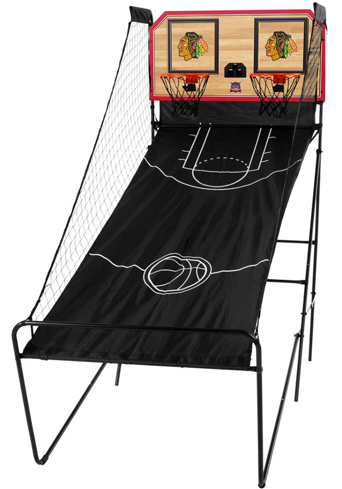 Chicago Blackhawks Double Shootout Basketball Set - Image 1