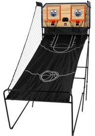 Edmonton Oilers Double Shootout Basketball Set