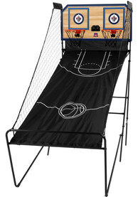 Winnipeg Jets Double Shootout Basketball Set