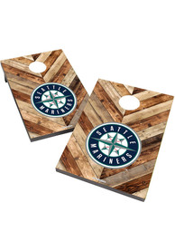Seattle Mariners 2X3 Cornhole Bag Toss Tailgate Game