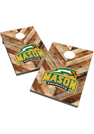 George Mason University 2X3 Cornhole Bag Toss Tailgate Game