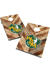 William & Mary Tribe 2X3 Cornhole Bag Toss Tailgate Game