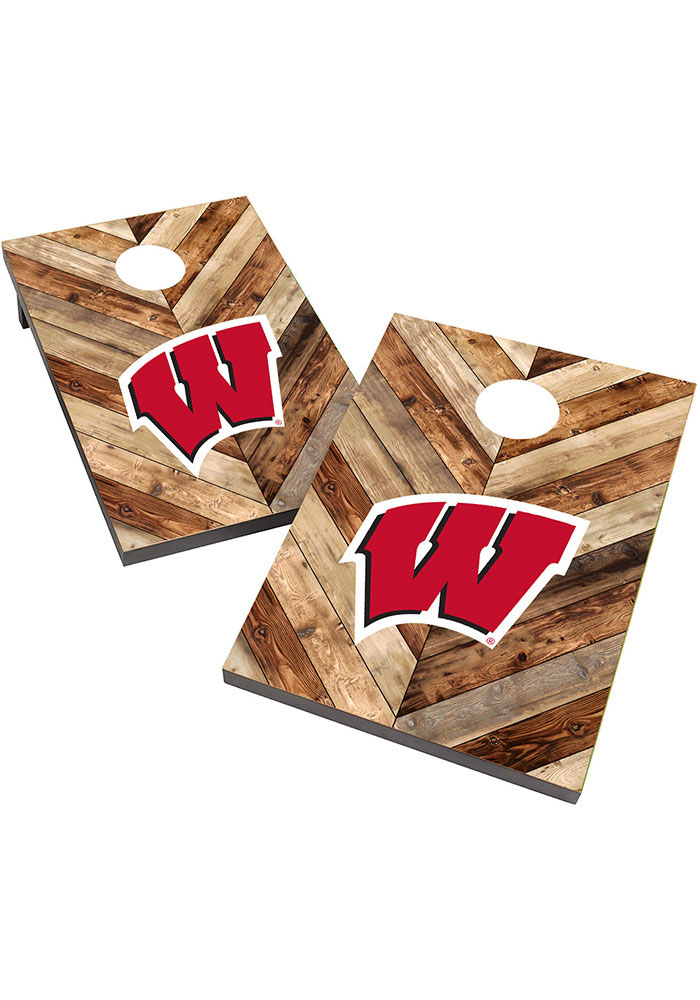 Wisconsin Badgers 2X3 Cornhole Bag Toss Tailgate Game - Image 1