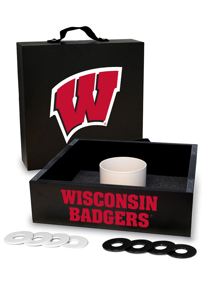 Wisconsin Badgers Washer Toss Tailgate Game - Image 1