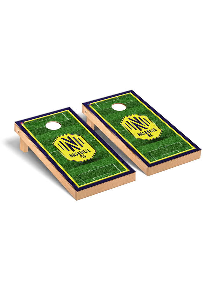 Nashville SC Soccer Field Regulation Cornhole Tailgate Game