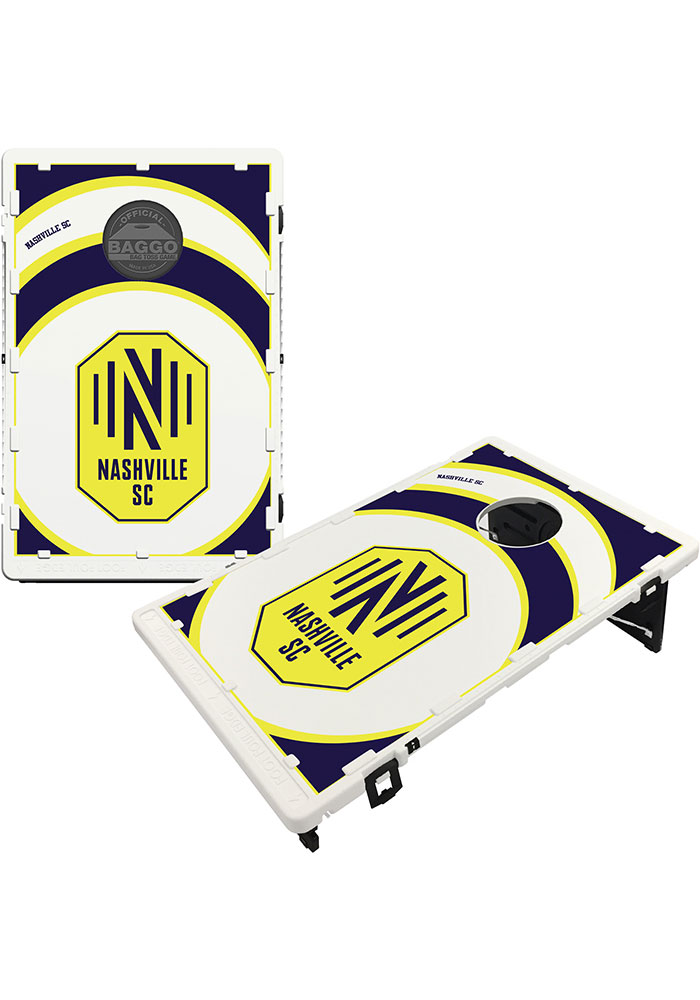 Nashville SC Vortex Baggo Bean Bag Toss Tailgate Game - Image 1