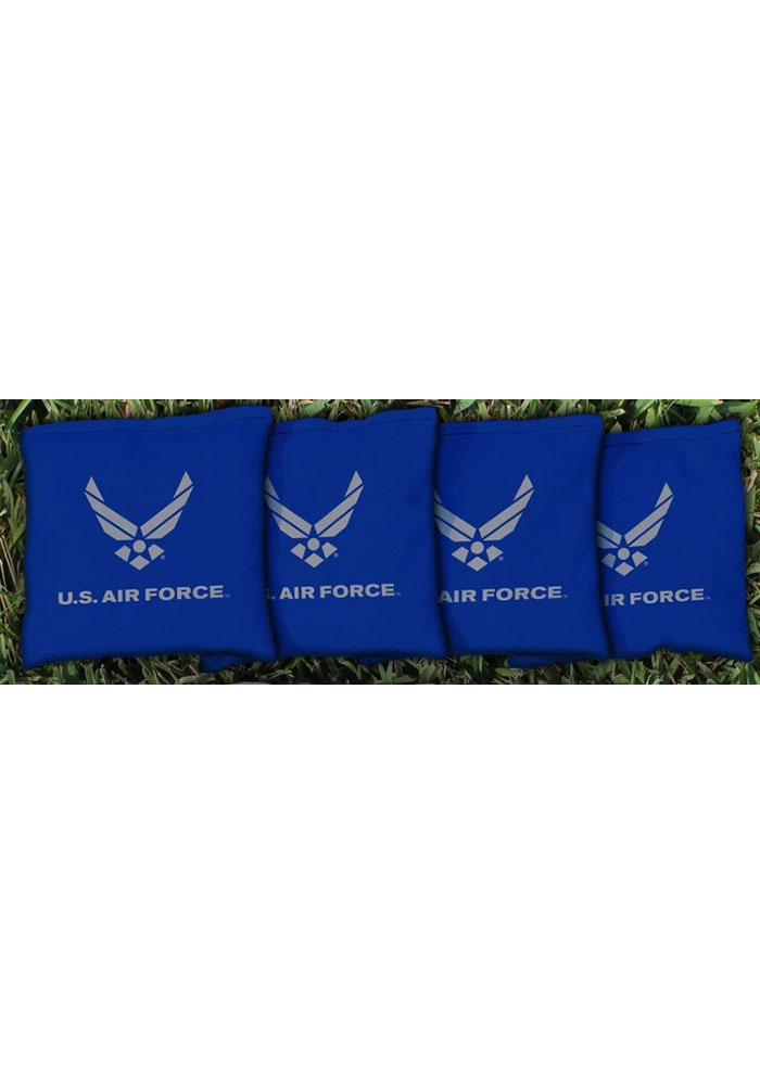 Air Force Corn Filled Cornhole Bags Tailgate Game