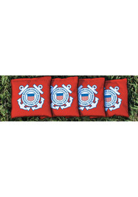 Coast Guard Corn Filled Cornhole Bags Tailgate Game