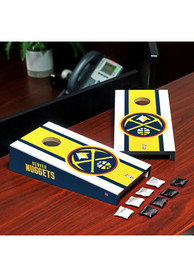 Denver Nuggets Desktop Cornhole Desk Accessory