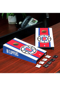 Los Angeles Clippers Desktop Cornhole Desk Accessory