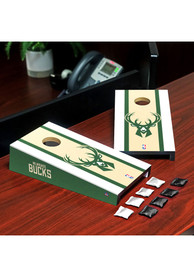 Milwaukee Bucks Desktop Cornhole Desk Accessory