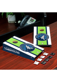 Minnesota Timberwolves Desktop Cornhole Desk Accessory