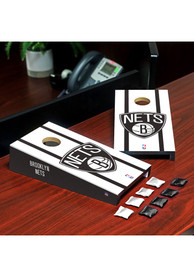 Brooklyn Nets Desktop Cornhole Desk Accessory