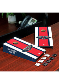 New Orleans Pelicans Desktop Cornhole Desk Accessory