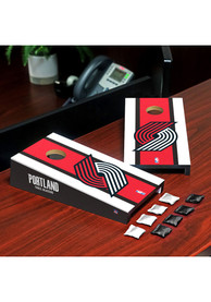 Portland Trail Blazers Desktop Cornhole Desk Accessory