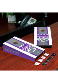 Sacramento Kings Desktop Cornhole Desk Accessory