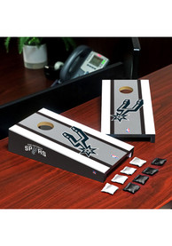 San Antonio Spurs Desktop Cornhole Desk Accessory