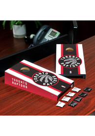 Toronto Raptors Desktop Cornhole Desk Accessory