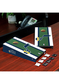 Utah Jazz Desktop Cornhole Desk Accessory