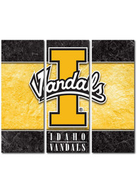 Idaho Vandals 3 Piece Border Canvas Wall Art