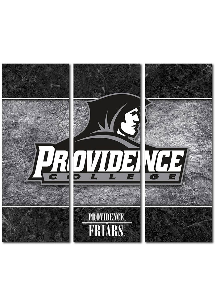 Providence Friars 3 Piece Border Canvas Wall Art - Image 1