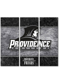 Providence Friars 3 Piece Border Canvas Wall Art