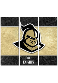 UCF Knights 3 Piece Border Canvas Wall Art