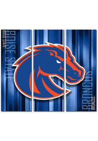 Boise State Broncos 3 Piece Rush Canvas Wall Art