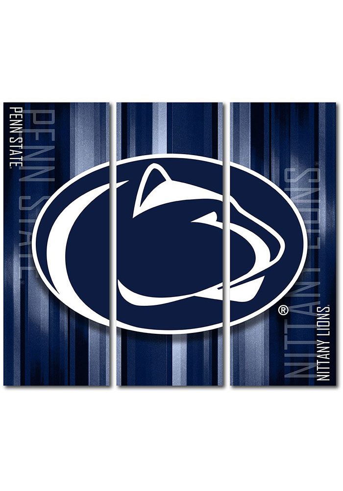 Penn State Nittany Lions 3 Piece Rush Canvas Wall Art - Image 1