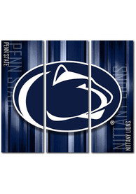 Penn State Nittany Lions 3 Piece Rush Canvas Wall Art