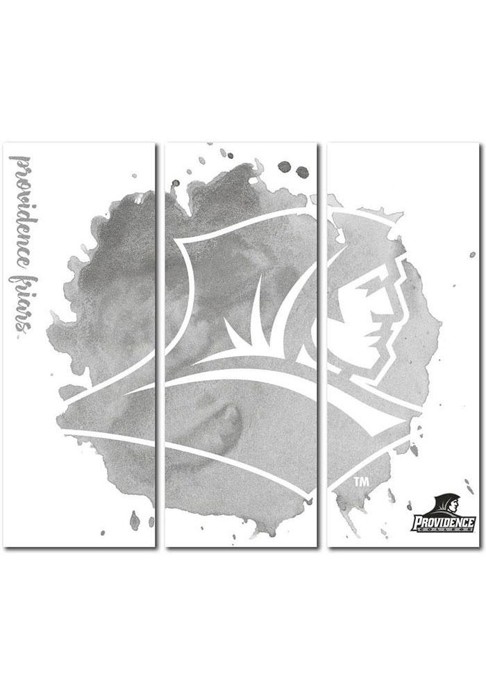 Providence Friars 3 Piece Watercolor Canvas Wall Art - Image 1