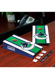Vancouver Canucks Desktop Cornhole Desk Accessory