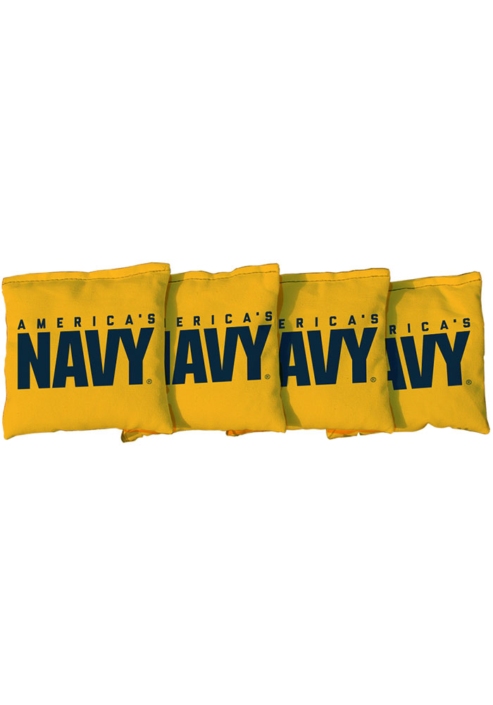 Navy All Weather Cornhole Bags Tailgate Game - Image 1