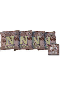 Navy Midshipmen All Weather Cornhole Bags Tailgate Game