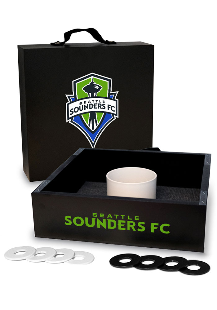 Seattle Sounders FC Washer Toss Tailgate Game - Image 1