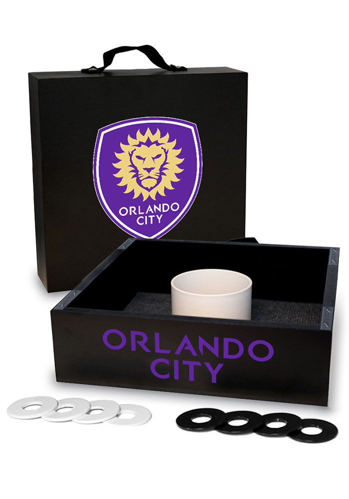 Orlando City SC Washer Toss Tailgate Game