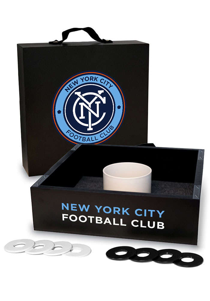 New York City FC Washer Toss Tailgate Game