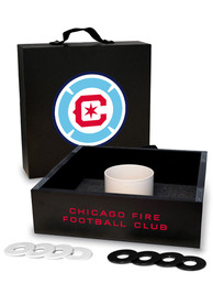 Chicago Fire Washer Toss Tailgate Game