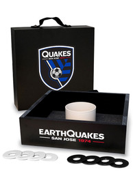 San Jose Earthquakes Washer Toss Tailgate Game