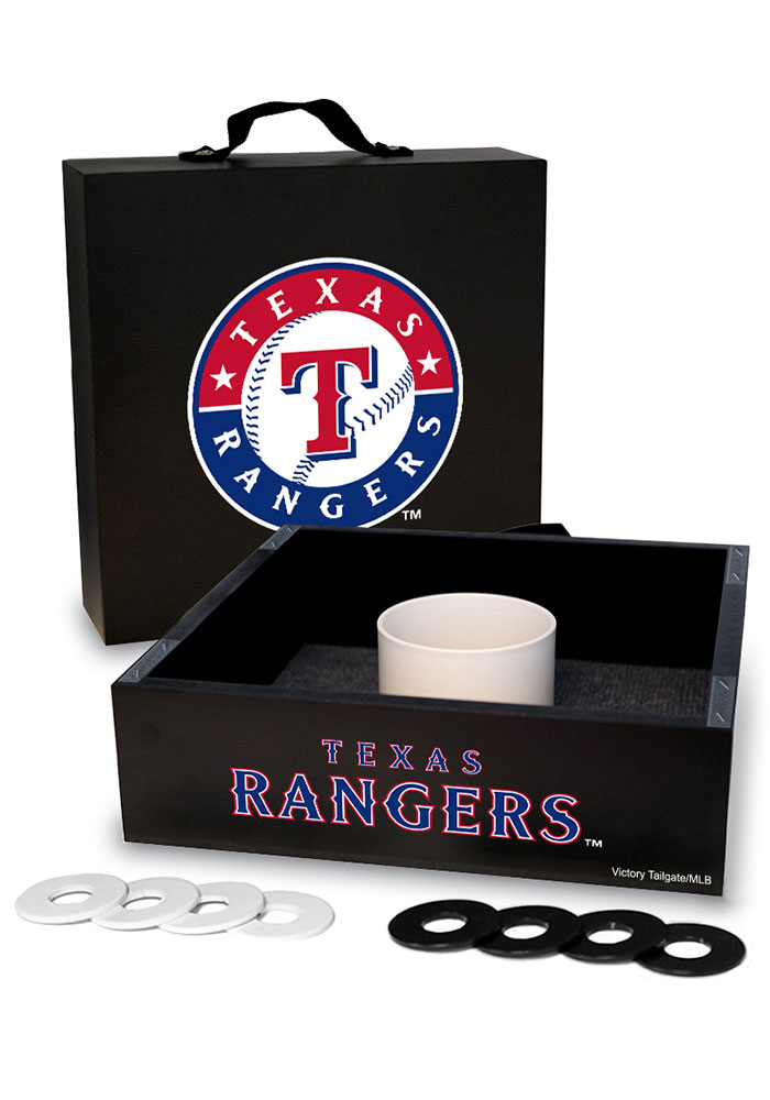 Texas Rangers Washer Toss Tailgate Game - Image 1