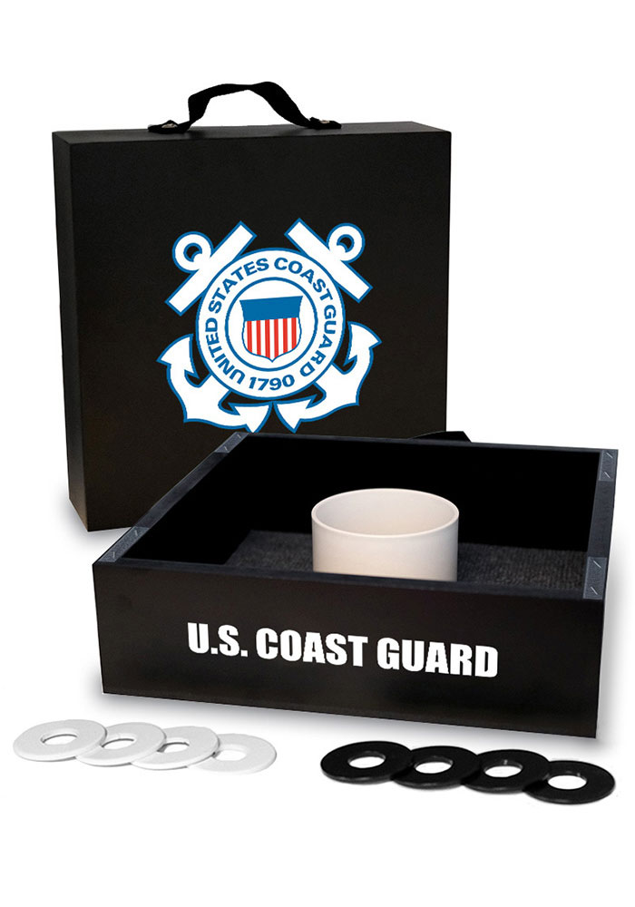 Coast Guard Washer Toss Tailgate Game - Image 1