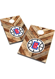 Los Angeles Clippers 2X3 Cornhole Bag Toss Tailgate Game